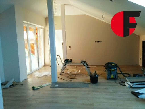 Dachgeschossausbau mit Trockenbau